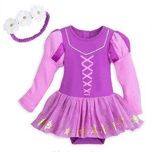 Rapunzel Disney Onesie Dress & Headband
